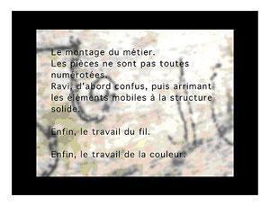 Bracelets LOOM - Design textile by Myriam Balaÿ jo81 Un journal Du proche et du lointain