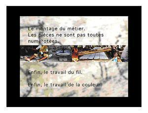 Bracelets LOOM - Design textile by Myriam Balaÿ jo91 Un journal Du proche et du lointain