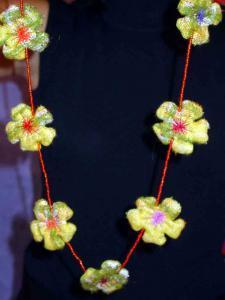 Bracelets LOOM - Design textile by Myriam Balaÿ me_my0491 Perles et fleurs L'appartement