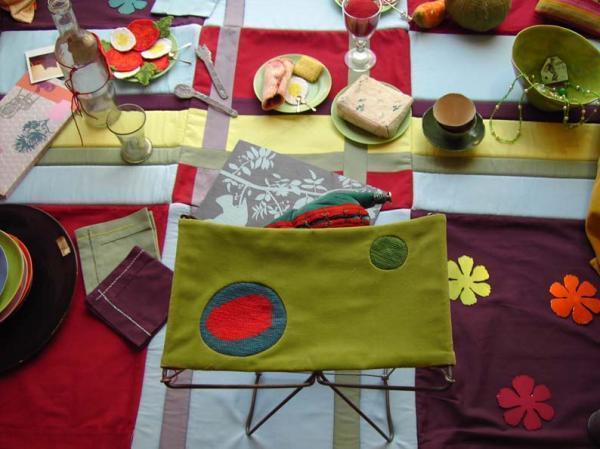 Bracelets LOOM - Design textile by Myriam Balaÿ copie-de-vitrine11 Une vitrine printanière de M&Mme D Passages