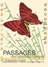 Bracelets LOOM - Design textile by Myriam Balaÿ chinaweb1 Boutique Passages: les cartes de visite Passages