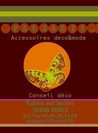 Bracelets LOOM - Design textile by Myriam Balaÿ copie-1-logopap21 Boutique Passages: les cartes de visite Passages