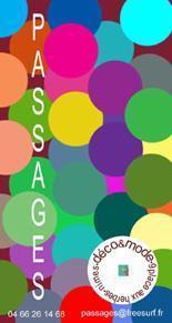 Bracelets LOOM - Design textile by Myriam Balaÿ cvsac1web1 Boutique Passages: les cartes de visite Passages
