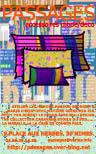 Bracelets LOOM - Design textile by Myriam Balaÿ cvsep066-11 Boutique Passages: les cartes de visite Passages
