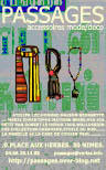 Bracelets LOOM - Design textile by Myriam Balaÿ cvsep6de-11 Boutique Passages: les cartes de visite Passages