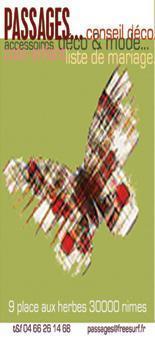 Bracelets LOOM - Design textile by Myriam Balaÿ ecossaispapnotyweb1 Boutique Passages: les cartes de visite Passages