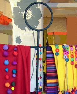 Bracelets LOOM - Design textile by Myriam Balaÿ vitrinesept061 Vitrine de rentrée Passages