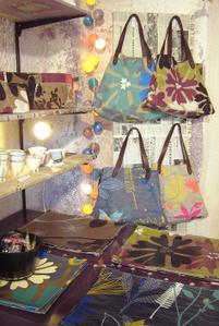 Bracelets LOOM - Design textile by Myriam Balaÿ ingridrlh-11 Les nouveautés de Mia Zia, Robert le Héros et Maison Georgette Passages