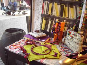 Bracelets LOOM - Design textile by Myriam Balaÿ miaziaorvitrine Les nouveautés de Mia Zia, Robert le Héros et Maison Georgette Passages