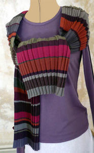 Bracelets LOOM - Design textile by Myriam Balaÿ akordeoniver1 Echarpe Mia Zia Passages