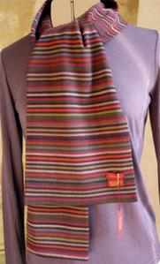 Bracelets LOOM - Design textile by Myriam Balaÿ ziorefoliver1 Echarpe Mia Zia Passages