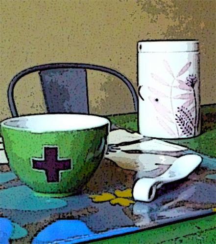Bracelets LOOM - Design textile by Myriam Balaÿ cookbollzc1 Un petit déjeuner végétal L'appartement