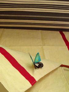 Bracelets LOOM - Design textile by Myriam Balaÿ bobodecomodi1 Octobre se donne des airs de printemps L'appartement  myriam balaÿ devidal