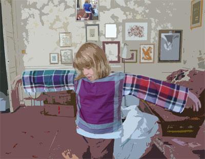 Bracelets LOOM - Design textile by Myriam Balaÿ mouchoir1 Les petits mouchoirs L'appartement me&myself