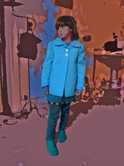 Bracelets LOOM - Design textile by Myriam Balaÿ vebleu1 La petite veste bleue L'appartement  myriam balaÿ devidal