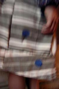 Bracelets LOOM - Design textile by Myriam Balaÿ jupepoiscobaltflou-copie-11 Toile à matelas et pois cobalt L'appartement  myriam balaÿ devidal