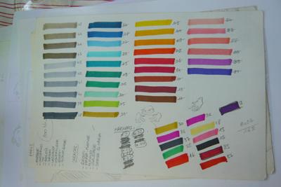 Bracelets LOOM - Design textile by Myriam Balaÿ yayapalette1 La maison dans les arbres L'appartement