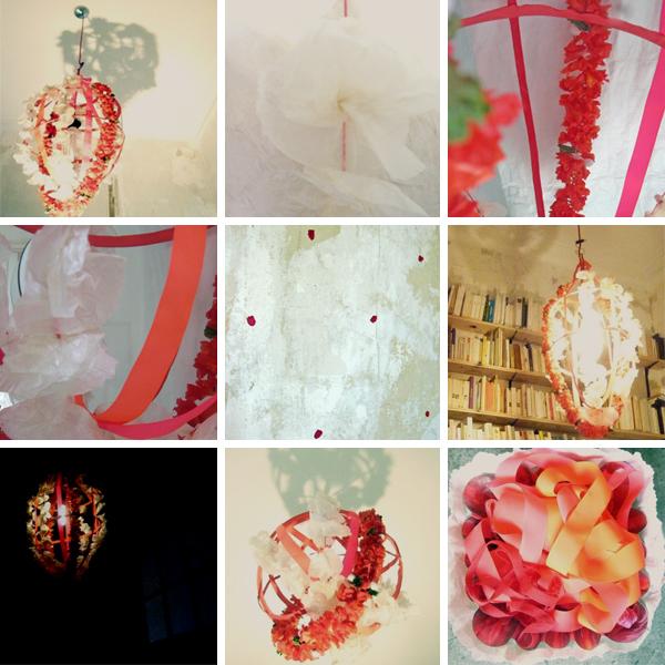 Bracelets LOOM - Design textile by Myriam Balaÿ panier31 Suspension lumineuse panier de fleurs (fab mbd) L'appartement