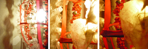 Bracelets LOOM - Design textile by Myriam Balaÿ panier41 Suspension lumineuse panier de fleurs (fab mbd) L'appartement