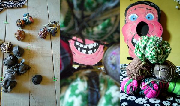 Bracelets LOOM - Design textile by Myriam Balaÿ monstre2 Monstre dans L'Appartement L'appartement