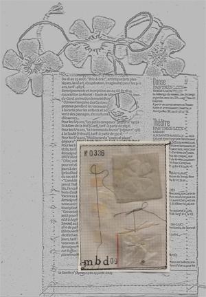 Bracelets LOOM - Design textile by Myriam Balaÿ noirblancpack1 Fleurs en noir & blanc L'appartement