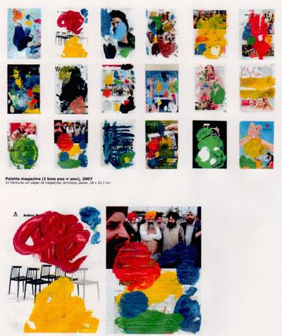Bracelets LOOM - Design textile by Myriam Balaÿ palettefranck1 la Guerre et la Paix L'appartement
