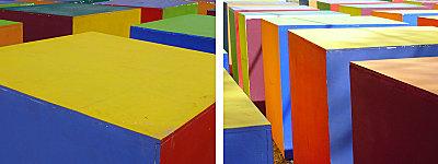 Bracelets LOOM - Design textile by Myriam Balaÿ roussillon51 Une histoire de couleur L'appartement