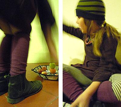Bracelets LOOM - Design textile by Myriam Balaÿ zoe21 vendredi, vétement, végétal, violet, vert ... L'appartement