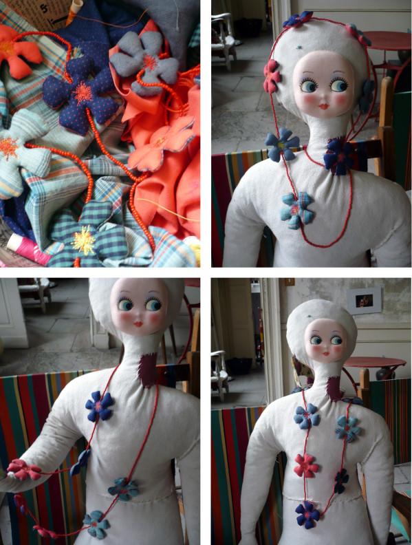 Bracelets LOOM - Design textile by Myriam Balaÿ sarah des fleurs par çi ,par là ... L'appartement