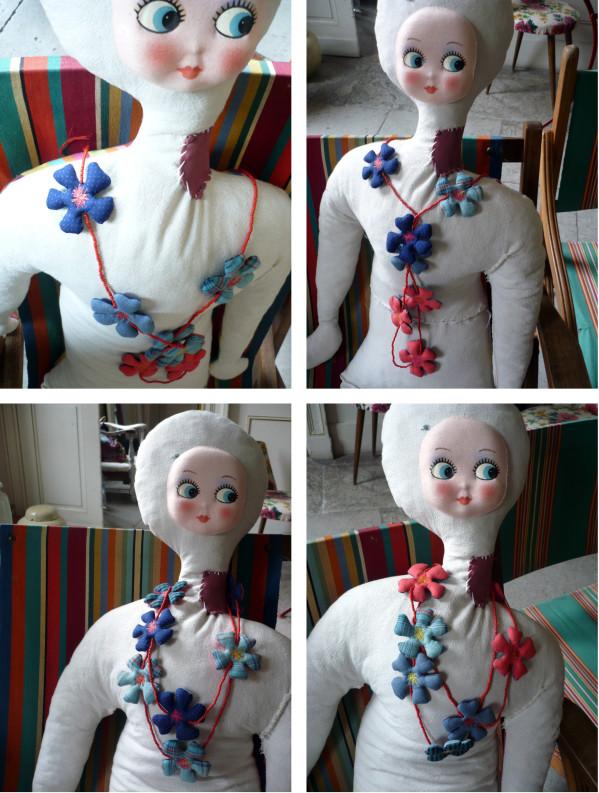 Bracelets LOOM - Design textile by Myriam Balaÿ saraho des fleurs par çi ,par là ... L'appartement