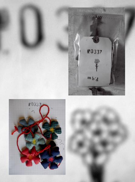 Bracelets LOOM - Design textile by Myriam Balaÿ n-0337 N°O337 L'appartement