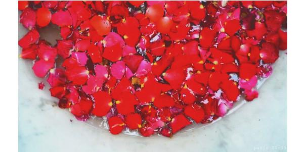 Bracelets LOOM - Design textile by Myriam Balaÿ rond-roses6 invitation au voyage... L'appartement  myriam balaÿ devidal