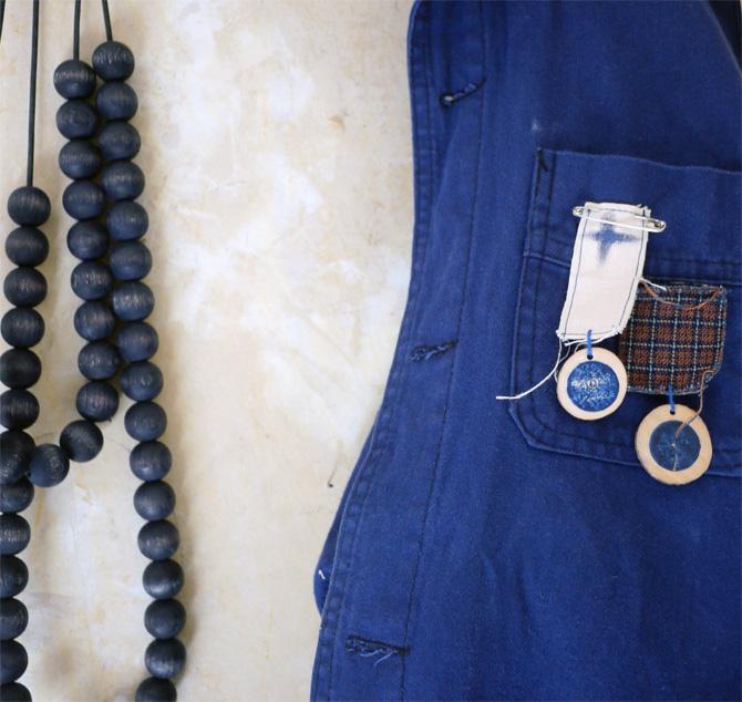 Bracelets LOOM - Design textile by Myriam Balaÿ myriam-balay-bois-bleu sur un air de nature ... L'appartement
