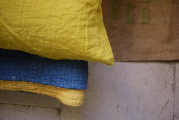 Bracelets LOOM - Design textile by Myriam Balaÿ myriam-balay-coussin-jaune-e1444637659672 sur un air de nature ... L'appartement