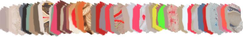 Bracelets LOOM - Design textile by Myriam Balaÿ myriam-balay-palette-du-jour poisson de bonne compagnie L'appartement