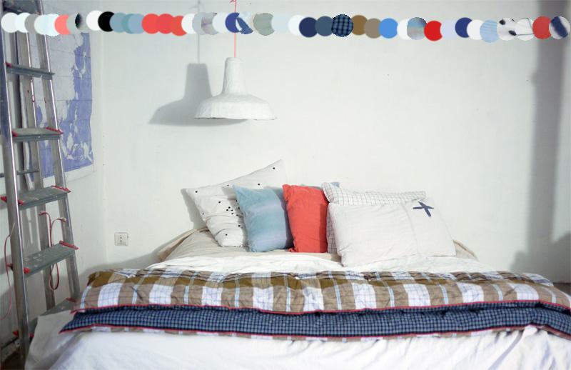 Bracelets LOOM - Design textile by Myriam Balaÿ myriam-balay-chambre-blanche éclairage artificiel L'appartement