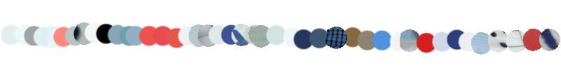Bracelets LOOM - Design textile by Myriam Balaÿ myriam-balay-color-palette éclairage artificiel L'appartement