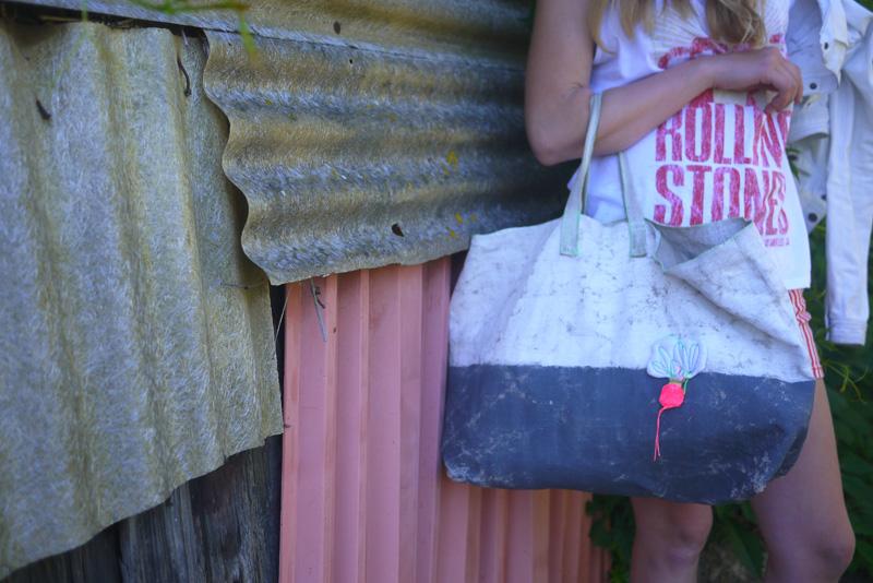 Bracelets LOOM - Design textile by Myriam Balaÿ myriam-balay-alix1 girl with medium usure radis bag L'appartement