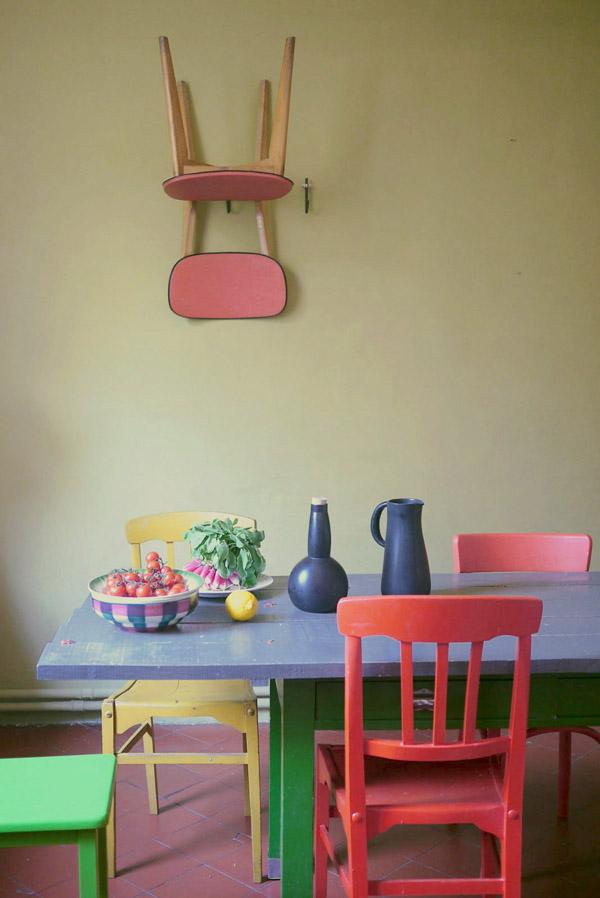 Bracelets LOOM - Design textile by Myriam Balaÿ cuisine kitchen colors L'appartement