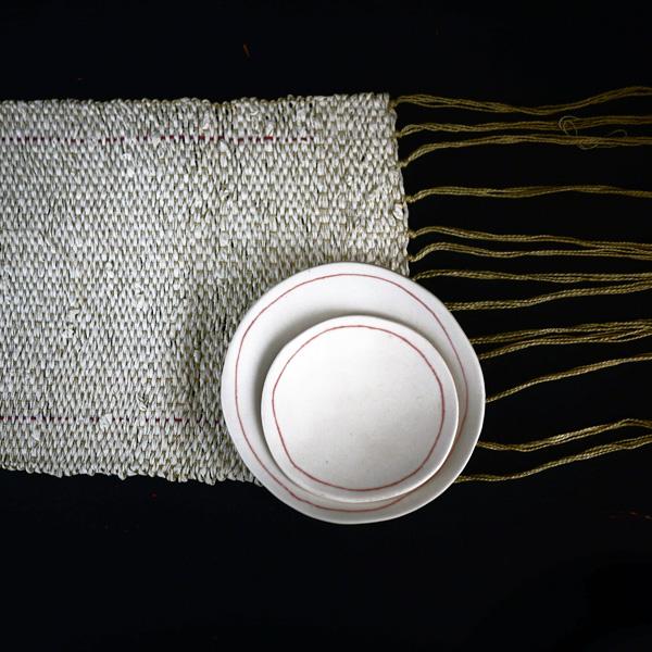 Bracelets LOOM - Design textile by Myriam Balaÿ myriam-balay-tissage-papier31 paper weaving L'appartement
