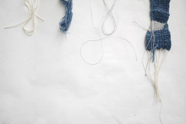 Bracelets LOOM - Design textile by Myriam Balaÿ myriam-balay-denim denim addict L'appartement