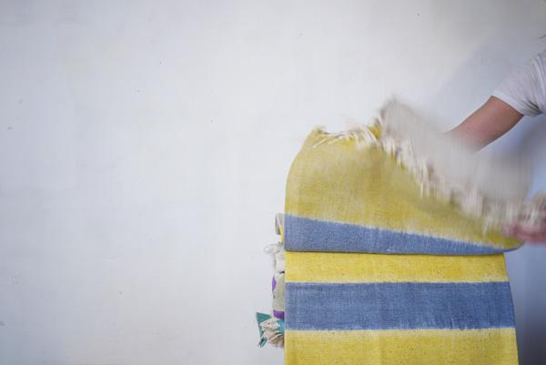 Bracelets LOOM - Design textile by Myriam Balaÿ myriam-balay-tissage-yellow CHAINE & TRAME L'appartement