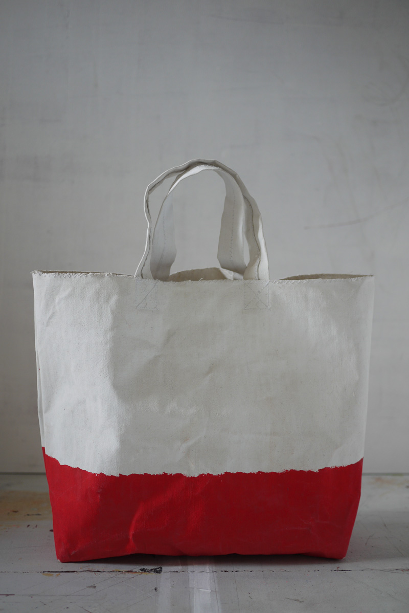 Bracelets LOOM - Design textile by Myriam Balaÿ myriam-balay-bag-red rouge pour cabas L'appartement