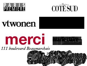 logo presse myriam balay devidal marie claire maison vtwonen coté sud  paris première  inside out design sponge milk  merci odette blum