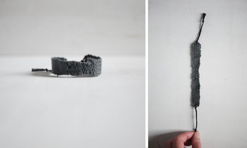 Bracelets LOOM - Design textile by Myriam Balaÿ myriam-balay-bracelet-soie-e1444148272937 bracelet LOOM N°34 L'appartement  soie mbd gris bracelet