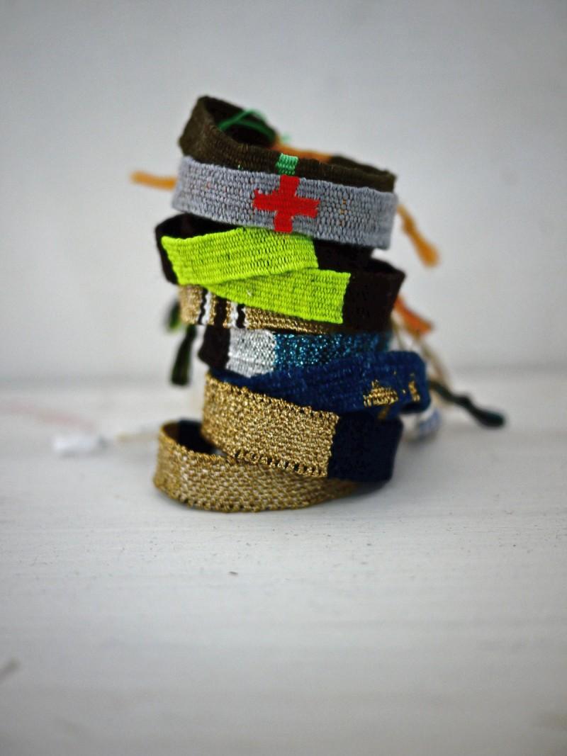 Bracelets LOOM - Design textile by Myriam Balaÿ myriam-balay-loom-e1466411163192 des LOOM(s) pour BELLEVILLE L'appartement