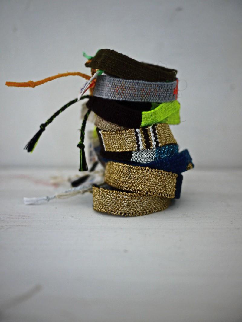 Bracelets LOOM - Design textile by Myriam Balaÿ myriam-balay-loom-totem-e1466411214481 des LOOM(s) pour BELLEVILLE L'appartement