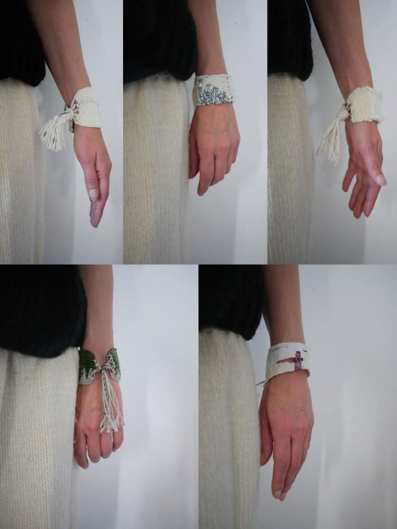 Bracelets LOOM - Design textile by Myriam Balaÿ myriam-balay-odette-blum-e1481355467164 MYRIAM BALAŸ pour ODETTE BLUM L'appartement