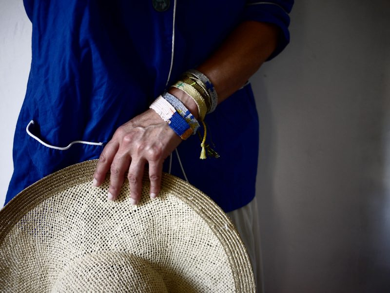 Bracelets LOOM - Design textile by Myriam Balaÿ myriam-balay-photographie-e1497026903172 NEW WORK L'appartement