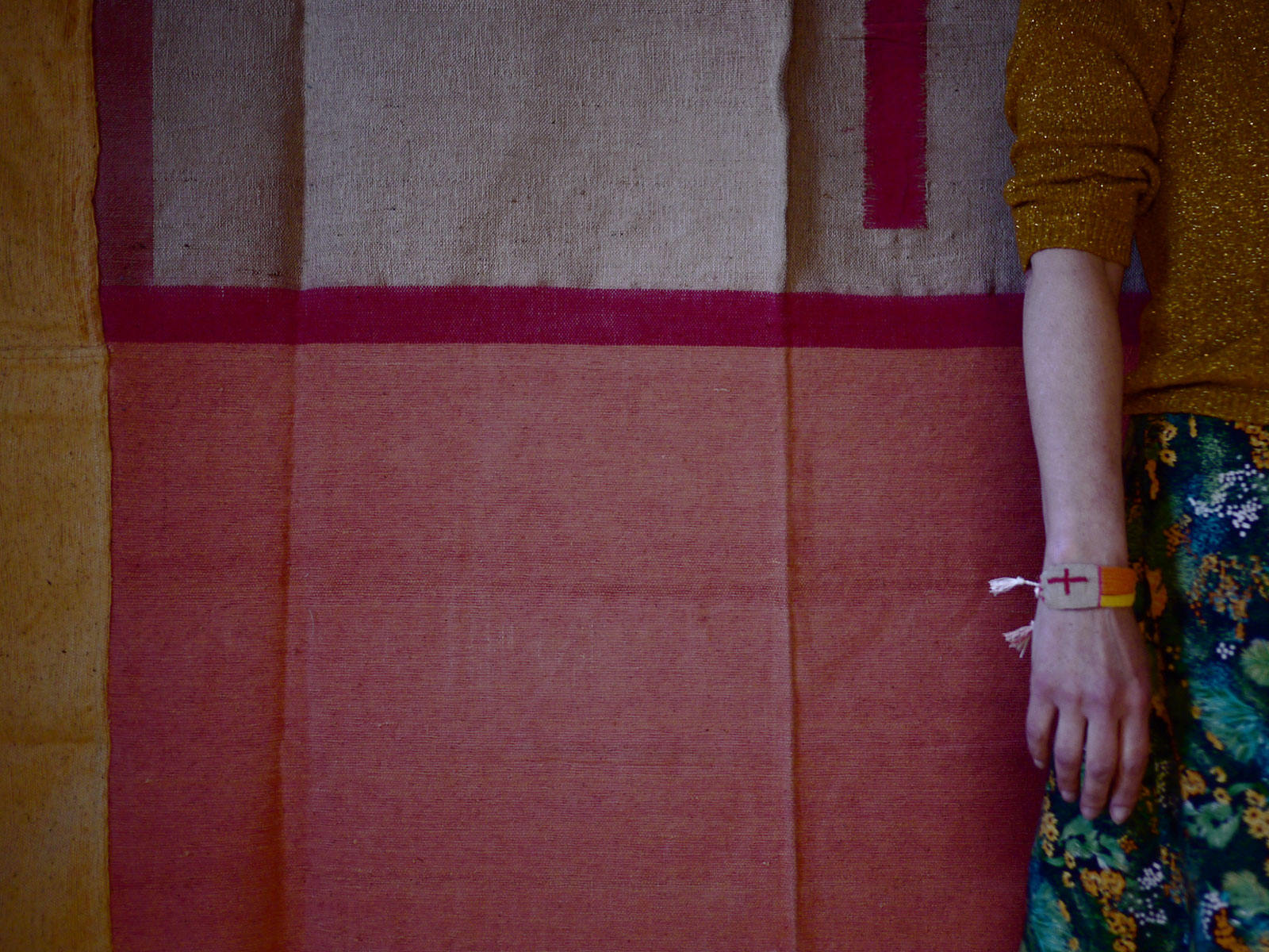 Bracelets LOOM - Design textile by Myriam Balaÿ myriam-balay-piece1 MICRO/MACRO L'appartement